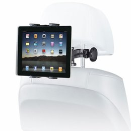 Wholesale Headrest Holder For Ipad - Car Auto Headrest Tablet Holder 360 Degree for iPad Phone Epad Touch Pad 5-10 inches