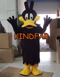 Wholesale Duck Costume Outfit Mascot - Wholesale-Count Duckula Mascot Costume Donald Duck Duckling Adult Size Fancy Dress Cartoon Outfit Suit Free Sh