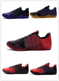 Wholesale Elite Football Boots - Kobe 11 XI Low Basketball Shoes Bryant Kobe 11 Elite Running Shoes KB XI Retro Weaving Sports Casual Sneakers Shoes Kobe Boots Size40-46