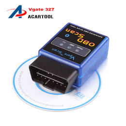 Wholesale Honda Diagnostic Android - New ELM327 MINI Bluetooth V2.1 CAN-BUS Diagnostic Interface Scanner Works on Android Torque 327 ELM OBD2 OBD ii Vgate Scan Tool
