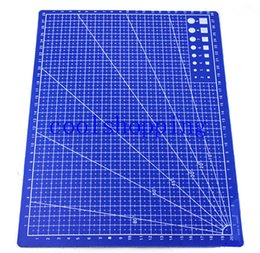 Wholesale Fabrics Papers - A4 Grid Lines Self Healing Cutting Mat Craft Card Fabric Leather Paper Board