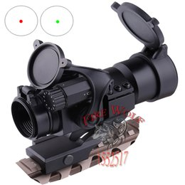 Wholesale Green Dot Reflex Sight - 2016 NEW M2 Sighting Telescope Laser Gun Sight with Reflex Red Green Dot Scope for Picatinny Rail