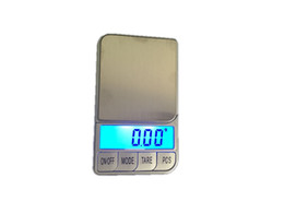 Wholesale digital scales free shipping - 500g 0.01 Kitchen Electronic Scales 500g x 0.01g Digital Pocket Jewelry Balance Weight Scale With Retail Box +7 Units Free Shipping