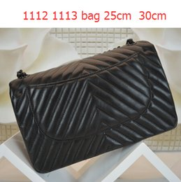 Wholesale Boys Satin Tie - 94306 New Arrival Lambskin 1113 V Shaped Bag Double Flaps Bag Fashion Women Genuine Leather Le Boy Shoulder Bag