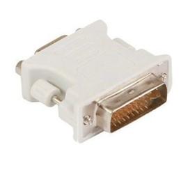 Wholesale Free Vga Cable - WHolesale 100pcs lot DVI 24+1   DVI 24+5 male to VGA female adapter adaptor DVI-D DVI-I DVI-A free shipping