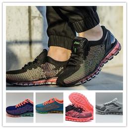 2018 Comercio al por mayor Gel-Quantum 360 Knit gel 360 Amortiguación Zapatillas Running Vamp Original Hombres Mujeres Zapatillas Baloncesto desde fabricantes