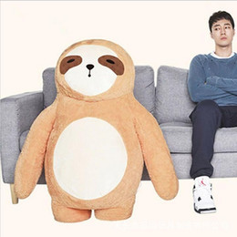 Wholesale Venus Gifts - Big Korean Film Oh My Venus DOODOOMONG Bear Plush Doll Toy Cushion Valentine's Gift Christmas Children's Gift Toy