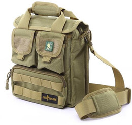 Wholesale Molle Shoulder Sling Bag - Free Soldier Hiking Camping Outdoor Bag Military Cordura Single-shoulder Bag Molle System Sling Bag for Short Trips