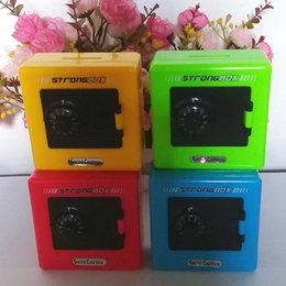 Wholesale Locks For Safe Box - Children Combination Code Safe Lock Piggy Bank Creative Fashion Small Gifts For Kids Money Box For Saving Coins 3 04xq J
