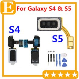 Wholesale S4 Gt - Original Ear Speaker Earpiece Light Sensor Flex Cable For Samsung Galaxy S4 GT-i9505 I337 I9500 M919 VS S5 I9600 G900 G900F G900T G900A