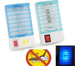 mini lampada da notte Sconti 220 V / 110 V raggi ultravioletti Elettrico Mosquito Killer Fly Bug Trappola insetti Zapper Repeller Mini LED Killer Night Lamp