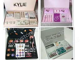 Wholesale Fall Drops - Kylie Makeup set DO NOT OPEN UNTIL CHRISTMAS birthday Edition Collection take me on vacation fall collection drop shiping