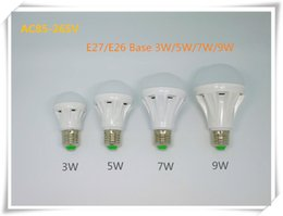Wholesale Led Halogen Replacements - SMD2835 LED Light Bulb 3W 5W 7W 9W Globe LED Bulb Lights E27 B22 E14 Base LED Lamp Halogen Bulbs Replacement