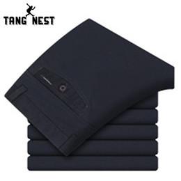 Wholesale Pocket Listings - Wholesale-Solid Color Men Pants 2016 New Listing Business Style Straight Pants Men Pockets Good Quality Classic Men's Trousers MKZ031