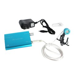 Wholesale Dental Loupe Lights - Free Shipping New Arrival Hot Sale Portable Blue Head Light Lamp for Dental Surgical Medical Binocular Loupe