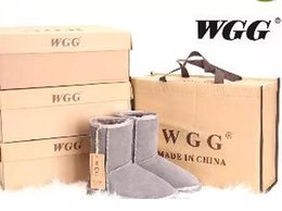 Wholesale Popular Boots - Factory HOT 2017 Classic WGG Brand Women popular Australia Genuine Leather Boots Fashion Women's Snow Boots US5--US10
