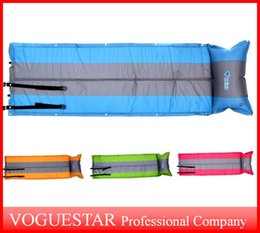 Wholesale Automatic Inflating Mattress - Outdoor Moisture-Proof Pad Thickening Tent Sleeping Pad Camping Mat Mats Outdoor Cushions Single automatic Inflatable Cushion OUT020