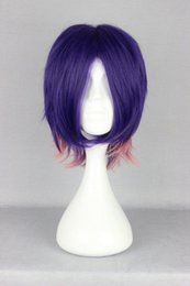 Wholesale Cheap Devil Costumes - Free Shipping Heat Resistant >>>New Fashion Cheap devils and realist-Kevin cecil Short Anime Cosplay Costume Wig
