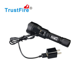 Wholesale Trustfire Wholesale - Trustfire TR-Jie8 CREE XM-L2 LED USB Rechargeable LED Flashlight 18650 Torches including USB Charger Free Shipping