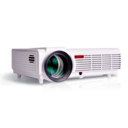 Wholesale Led Projecteur Lcd - HD Projector LCD Led Full Hd 3d Android Wifi Projecteur LED96 Real 5500lumens 1280x800 Cinema Video HDMI USB VGA TV Home Theater Proyector