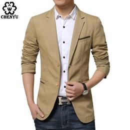 Wholesale Fit Suite - Wholesale- New Slim Fit Casual jacket Cotton Men Blazer Jacket 2 Button Black Mens Suit Jacket 2016 Autumn Patchwork Coat Male Suite M-3XL