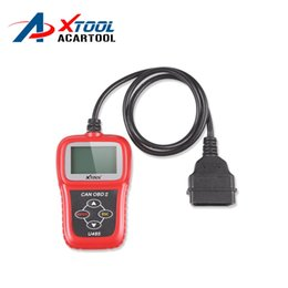 Wholesale Best Audi Diagnostic - 2015 Promotion Best Selling Auto Diagnostic Scanner U485 Eobd2 OBD2 CAN BUS U485 Code Reader Free Shipping High Quality