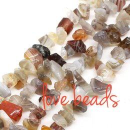 Wholesale Freeform Agate Beads - 5mm-8mm Irregular Natural Persian Gulf Agate Gravel Stone Loose Beads Freeform Strand 80CM For Woman wholesale(F00378) wholesale