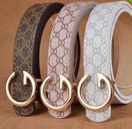 Wholesale Belts Children - HOT saling 2017 New brand hot sale designer kids PU leather belts children boys girls Letter buckle Leisure waist strap #5463