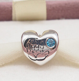 Wholesale Pandora Baby Charms - Fits Pandora BABY BOY CHARM DIY Beads Solid 925 Silver Not Plated