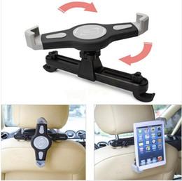 Wholesale Headrest Ipad Holder - New Car black Back Seat Headrest Mount Holder For 7-10inch for Samsung for iPad air mini Tablet