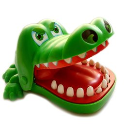 Wholesale old bit - Wholesale- Creative Children Toys Exercise The antistress Of The Bite Of Fhe Cartoon Crocodile Tooth Fun Party Interactive Game Family Gift