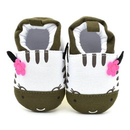 Wholesale Dairy Cows Wholesale - Cute Novelty Baby Boys Shoes Winter Soft Cotton Baby First Walker Green Dairy Cows Boy Infant Toddler Keep Warm Thick shoes
