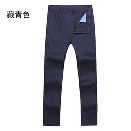 Wholesale Men Office Trousers - Wholesale-2016 summer and arrival men pleat light grey silk trousers formal business work office suit pants