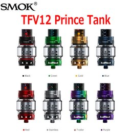 Wholesale Bear Tanks - Original SMOK TFV12 Prince Cloud Beast Tank Big 8ml Capacity Sub Ohm Atomizer Wide Bore Drip Tip Fit V12 Q4 X6 M2 T10 Coil 100% Authentic