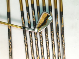 Wholesale Iron Man Star - Honma Golf Clubs 4 Star Honma IS-05 Iron Set Honma Golf Irons #4567891011AS Graphite Shaft Regular&Stiff&SR Flex With Head Cover