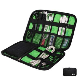 Wholesale Cable Wires Organizer - Data Cable Line Wire Feed Bag Organizer Storage Bags Practical Handset Accessories Pouch Case Digital Electric Flash Disk