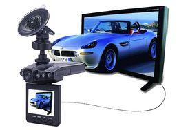 "Wholesale Free Cam Recording - H198 HD Car DVR Camera Blackbox 2.5"" Vehicle Video Voice Recorder Cam 6 IR LED Night Video 60pcs Free DHL"