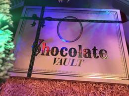 coffret cadeau chocolat Promotion Noël édition limitée Chocolate Vault fard à paupières fondation primer maquillage pour 2017 Noël cadeau DHL gratuite