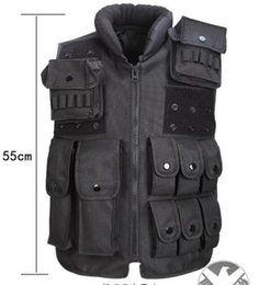 Wholesale Tactical Training Uniforms - Hot Selling Unisex Wholesale Tactical Vest American Special Attendance Equipment Outdoor Real Life CS Field Safety Training Uniforms