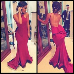 Wholesale Slimming Arabic Dress - 2016 O Neck Natural Slim Mermaid Arabic Party Evening Dresses Cheap Plus Size Prom Gowns Custom Made Pageant Formal Special Occasion Dress