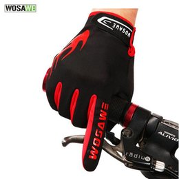 Wholesale Waterproof Touch Screen Gloves - New Thermal Fleece Cycling Glove Full Finger Touch Screen Road Bike Bicycle Racing Motorcycle Windproof Sports Gloves K2068