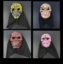 Wholesale Eva Full Face Party Mask - Halloween Terrorist Mask EVA Mask Costume Party Masks There Is No Horror Only More Terror Face CCA7105 100pcs