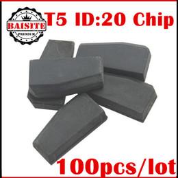 Wholesale T5 Transponder Id - Promotion price!!100% original 100pcs lot id t5 transponder chip blank t5 ID20 transponder chip t5 ID:20 free dhl