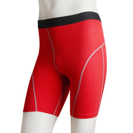 Wholesale Fast Drying Pants - Wholesale-Men Fast Dry Sport Tranning Shorts Compression Base Layer Short Pants Trousers