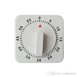 Wholesale Minute Foods - Square 60 Minute Cooking Timer Mechanical Kitchen Food Preparation E00156 SMAD
