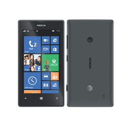 Wholesale 5mp Camera Phones - Original Nokia lumia 520 Dual Core 3G phone WIFI GPS 5MP Camera 512M 8G Storage Unlocked Windows Mobile Phone