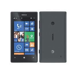 Wholesale dual windows - Original Nokia lumia 520 Dual Core 3G phone WIFI GPS 5MP Camera 512M 8G Storage Unlocked Windows Mobile Phone