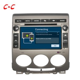 Wholesale Din Dvd Sd Usb - Quad Core Android 4.4 Car DVD Play for Mazda 5 with GPS Navigation Radio BT USB SD SWC Wifi Mirror link
