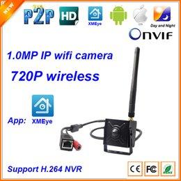 Wholesale Pinhole Camera Sd - 720P 1.0MP Mini wireless Hidden Spy micro Pinhole wifi IP Camera P2P function home security IP camera
