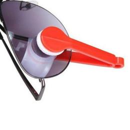 Wholesale-2pcs / lot Essential Microfiber Occhiali Cleaner Microfiber Occhiali da sole Occhiali Cleaner Clean Wipe da